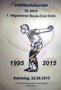 Boule-Plakat 2015          by Richard